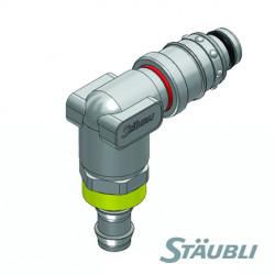 RPL FICHE 90° AUTO-SERREUR STAUBLI
